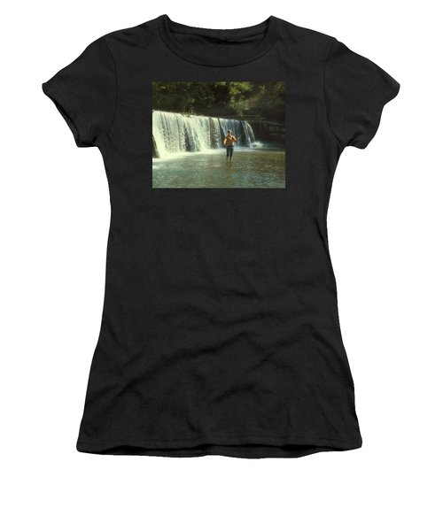 Fishing For Smallies Women's T-Shirt (Athletic Fit)