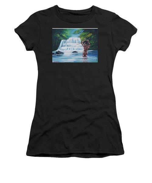 Fishing In The River Women's T-Shirt