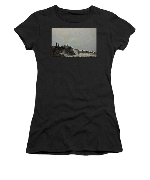 Fishing In The Twilight Zone Women's T-Shirt