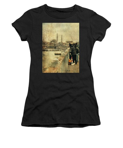 Fishing On The Bosphorus Women's T-Shirt (Athletic Fit)