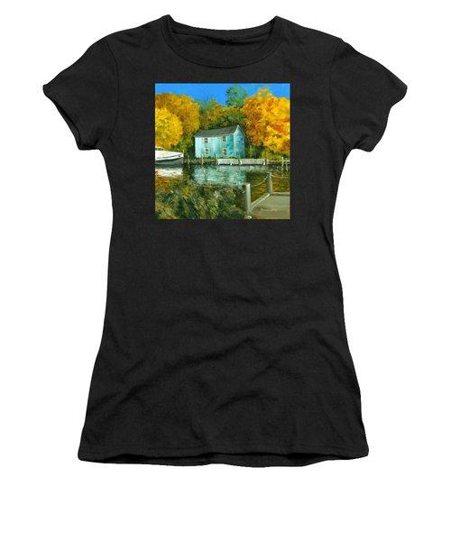Fishing Shanty Women's T-Shirt (Athletic Fit)