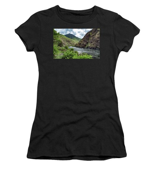 Fishing The Snake Waterscape Art By Kaylyn Franks Women's T-Shirt