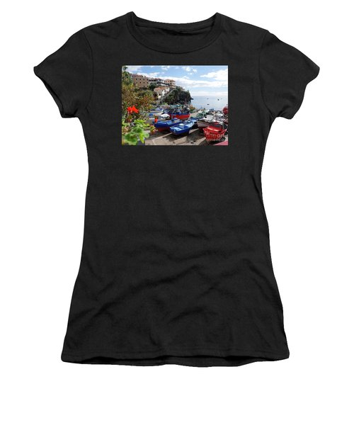 Fishing Village On The Island Of Madeira Women's T-Shirt