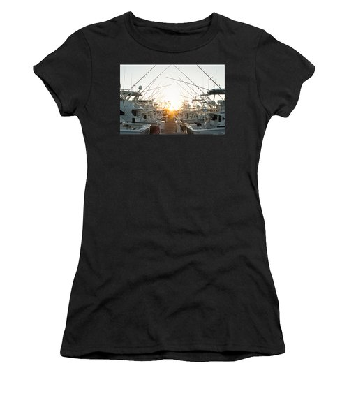 Fishing Yachts Women's T-Shirt