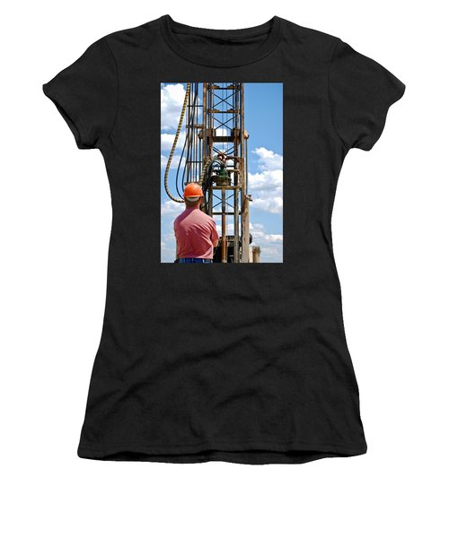 Fixing A Hole Women's T-Shirt (Athletic Fit)