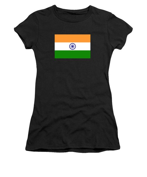 Flag Of India Authentic Version Women's T-Shirt