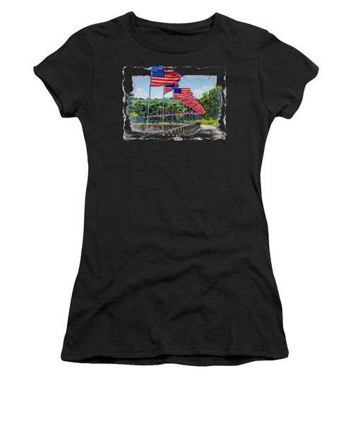 Flag Walk Women's T-Shirt