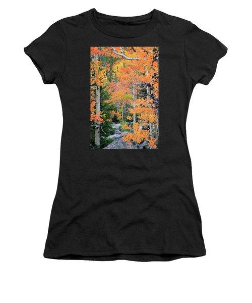 Flaming Forest Women's T-Shirt