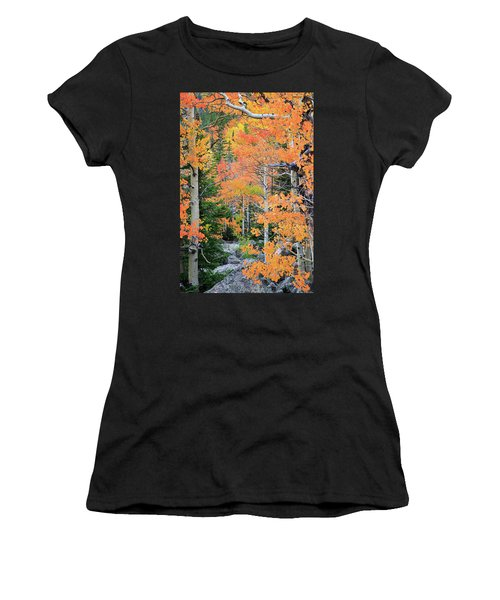 Flaming Forest Women's T-Shirt
