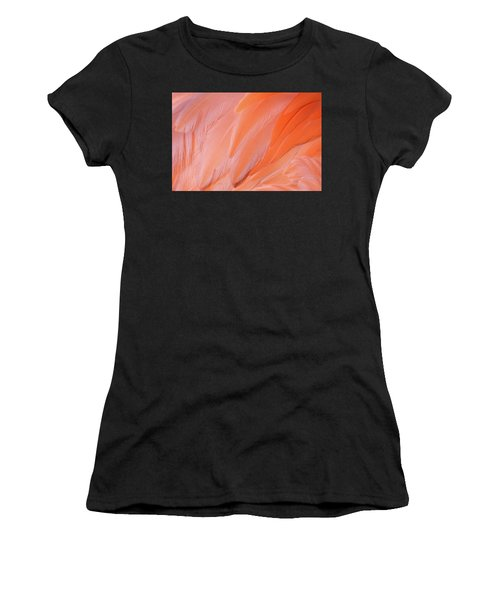 Women's T-Shirt featuring the photograph Flamingo Flow 4 by Michael Hubley
