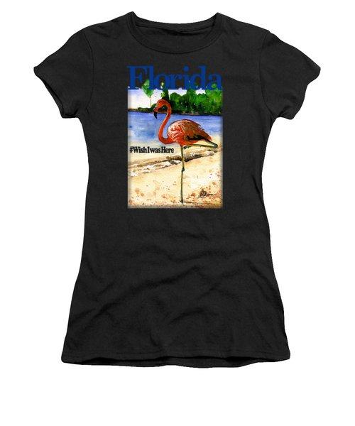 Flamingo In Florida Shirt Women's T-Shirt