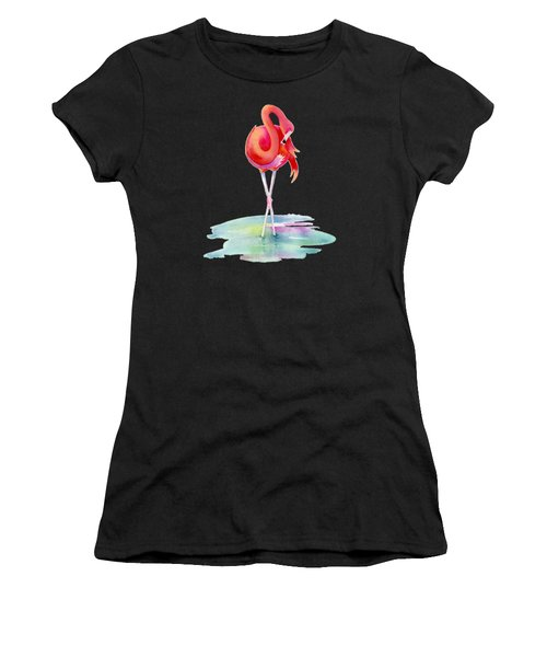 Flamingo Primp Women's T-Shirt