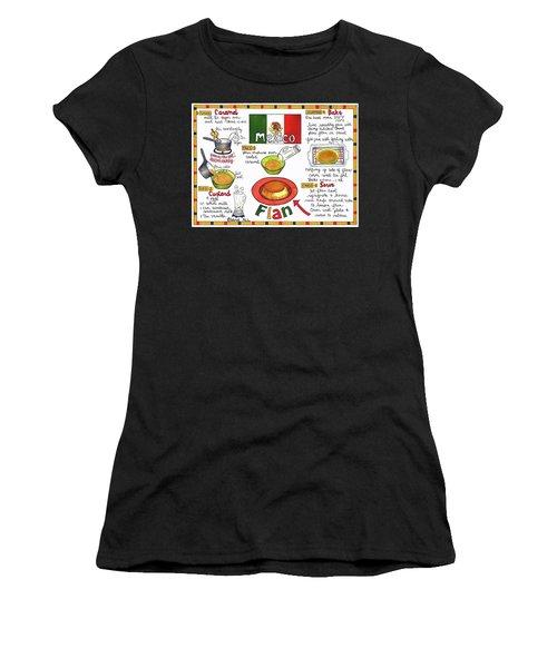 Flan Women's T-Shirt (Athletic Fit)