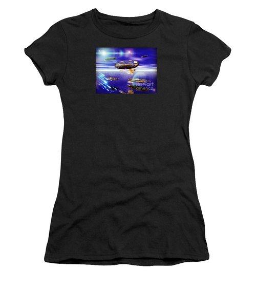Fleet Tropical Women's T-Shirt