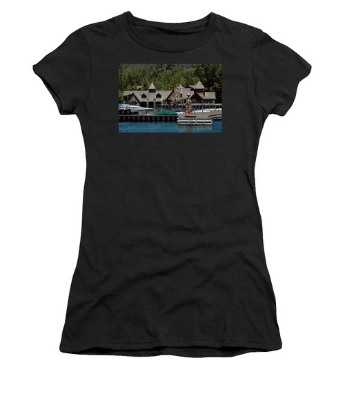 Fleur De Lac Mansion The Godfather II Women's T-Shirt (Junior Cut) by LeeAnn McLaneGoetz McLaneGoetzStudioLLCcom