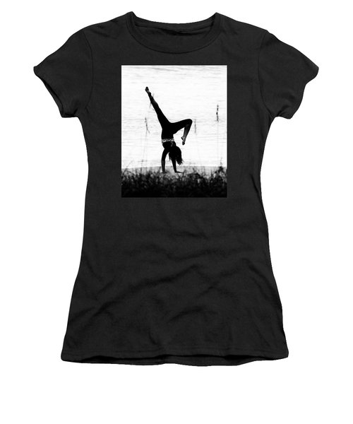 Women's T-Shirt (Athletic Fit) featuring the photograph Flexible by Alan Raasch