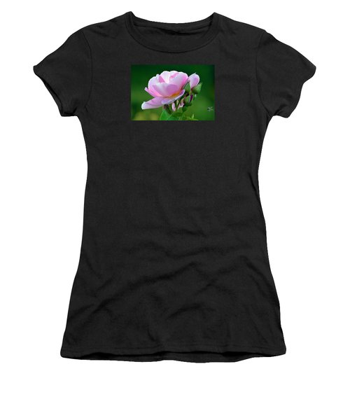 Flight Of The Pollinator. Women's T-Shirt (Athletic Fit)