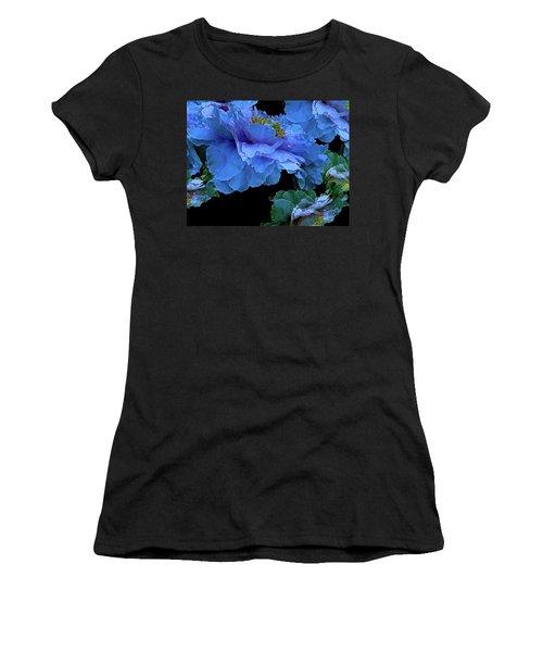 Floating Bouquet 14 Women's T-Shirt (Junior Cut) by Lynda Lehmann