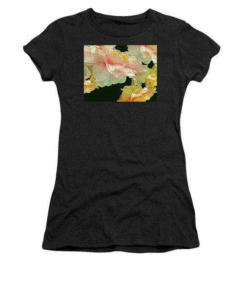 Floating Bouquet 31 Women's T-Shirt (Junior Cut) by Lynda Lehmann