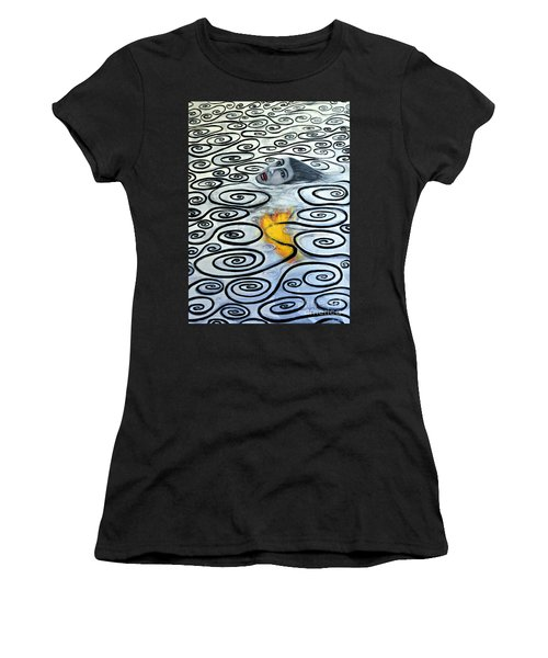 Floating Hearts Sixteen Women's T-Shirt (Athletic Fit)