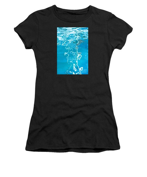 Floating On Blue 38 Women's T-Shirt (Athletic Fit)