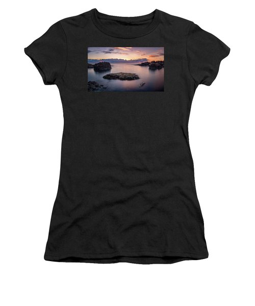 Floating Rocks Women's T-Shirt (Athletic Fit)