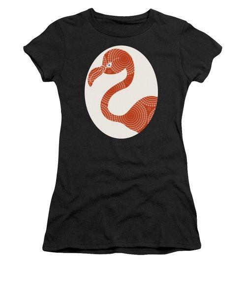 Floral Flamingo Women's T-Shirt
