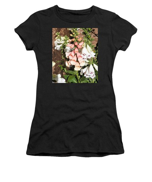 Floral Niagra Women's T-Shirt (Athletic Fit)