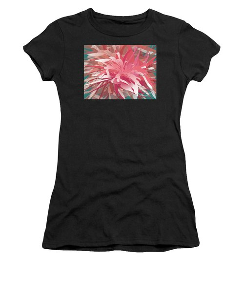 Floral Profusion Women's T-Shirt (Athletic Fit)