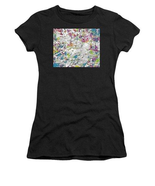 Floral Rainbow Women's T-Shirt
