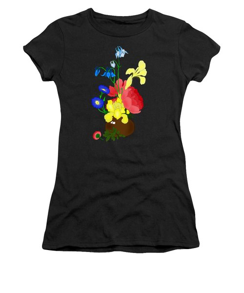 Floral Still Life 1674 Women's T-Shirt (Athletic Fit)