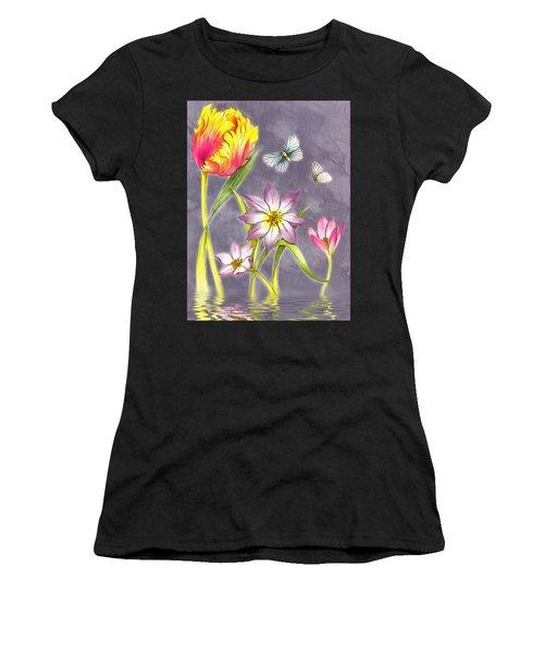 Floral Supreme Women's T-Shirt (Athletic Fit)
