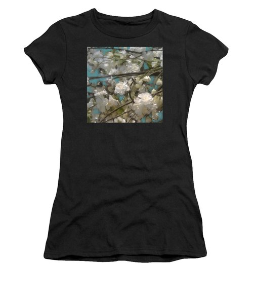 Floral01 Women's T-Shirt (Athletic Fit)