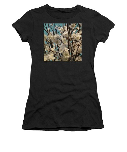 Floral02 Women's T-Shirt (Athletic Fit)