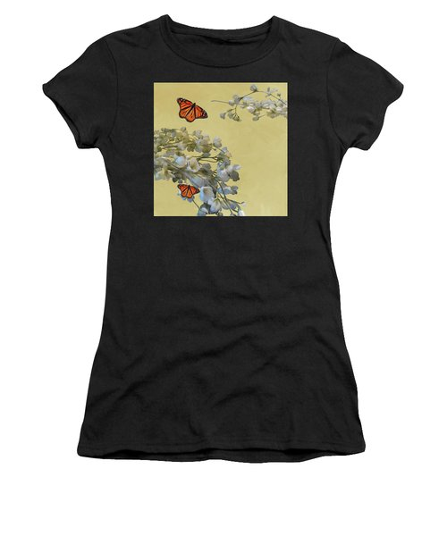 Floral05 Women's T-Shirt (Athletic Fit)