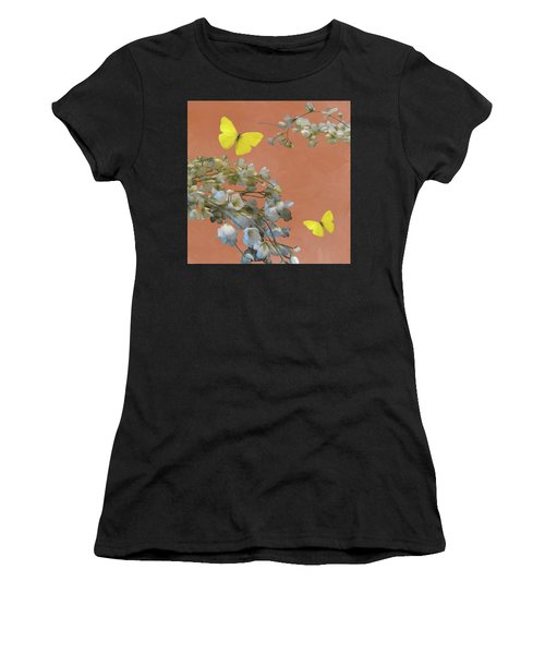 Floral06 Women's T-Shirt (Athletic Fit)