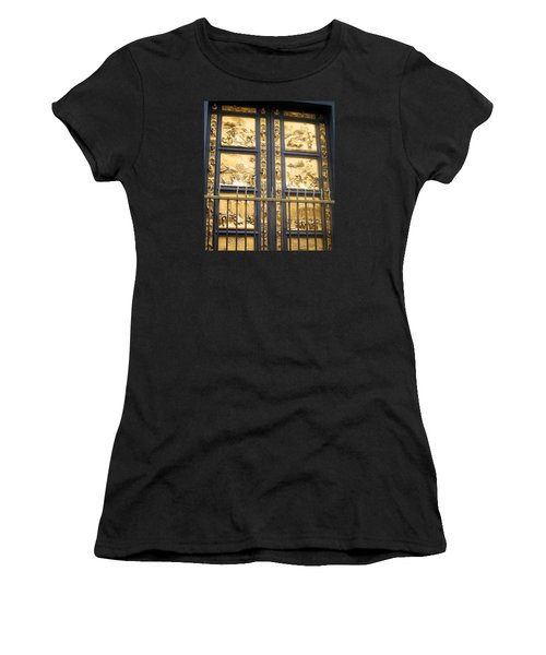 Florence Baptistry Doors Women's T-Shirt (Athletic Fit)