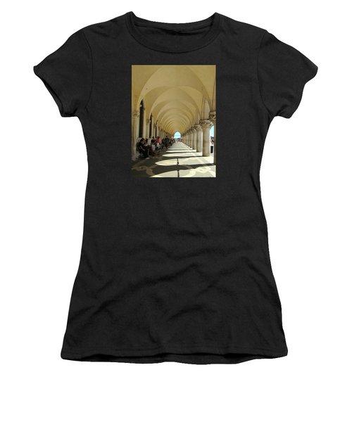 Florence Columns Women's T-Shirt (Athletic Fit)