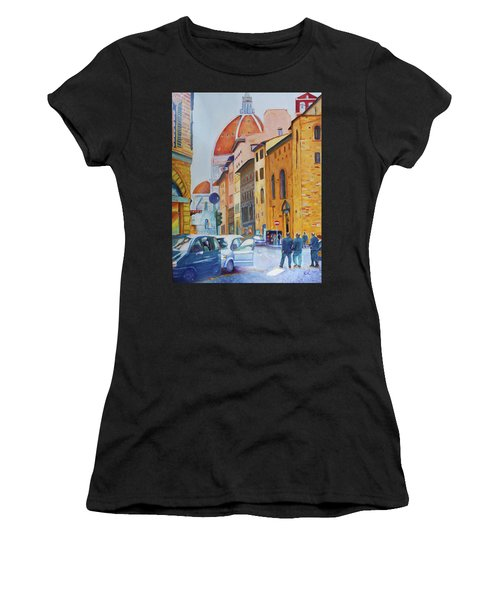 Florence Going To The Duomo Women's T-Shirt (Athletic Fit)