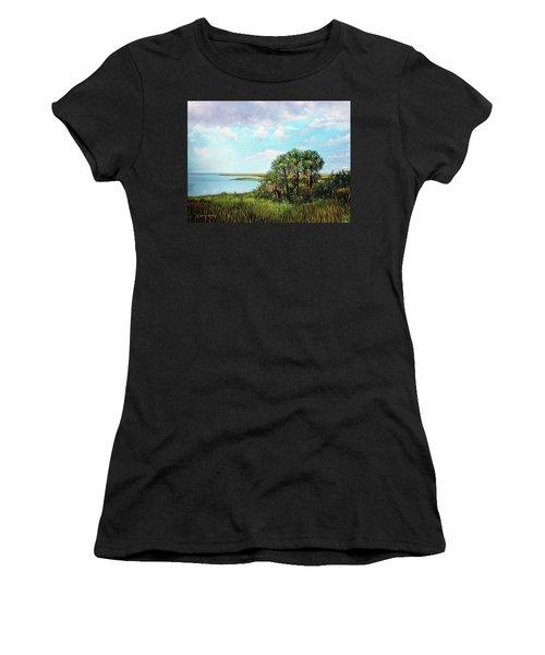 Florida Palms Women's T-Shirt (Athletic Fit)