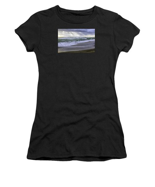 Florida Treasure Coast Beach Storm Waves Women's T-Shirt