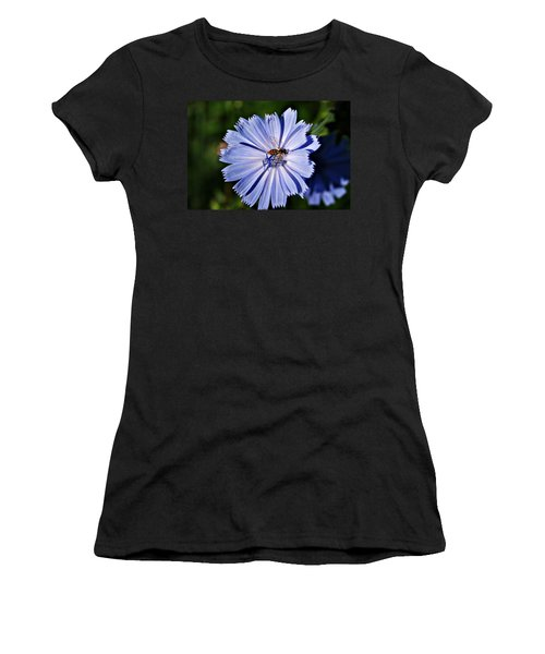 Flower And Bee 2 Women's T-Shirt (Athletic Fit)