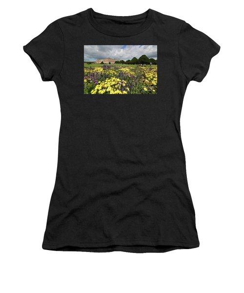 Flower Bed Hampton Court Palace Women's T-Shirt