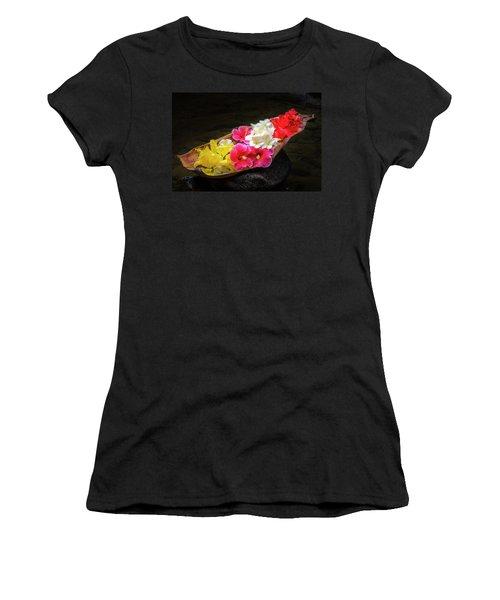 Flower Boat Women's T-Shirt