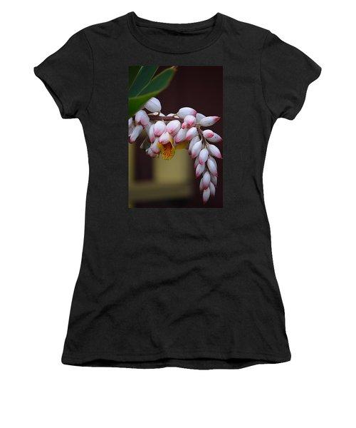 Flower Buds Women's T-Shirt (Junior Cut) by Lori Seaman