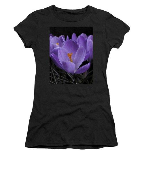 Flower Crocus Women's T-Shirt