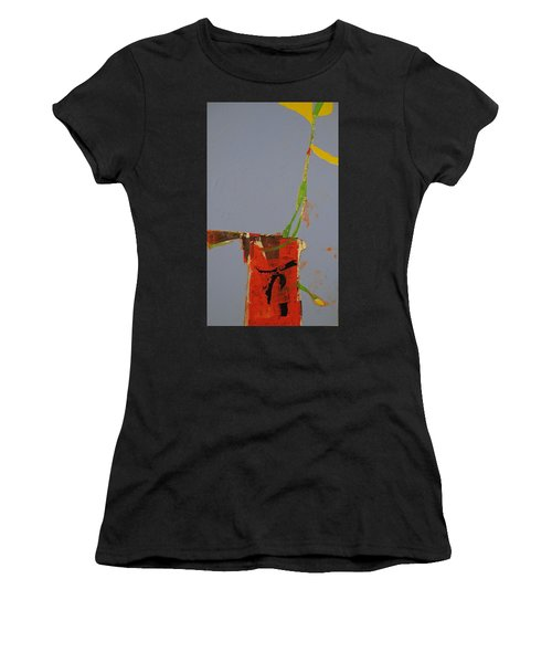 Flower In Pitcher- Abstract Of Course Women's T-Shirt