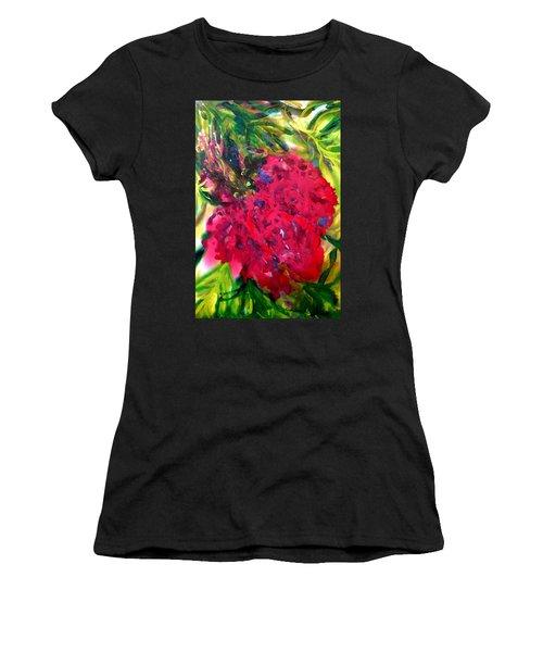Flower In The Garden Women's T-Shirt