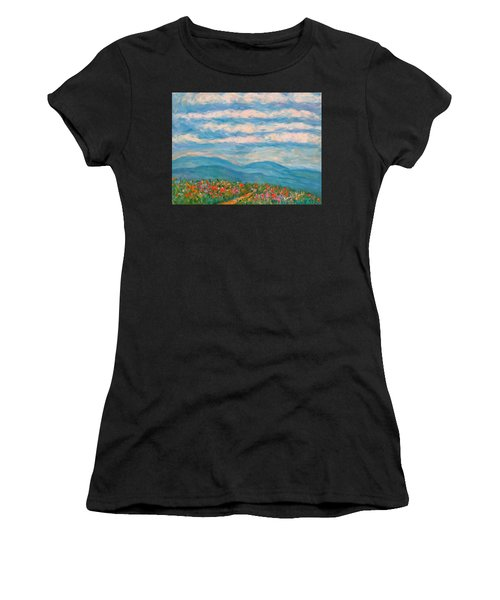 Flower Path To The Blue Ridge Women's T-Shirt