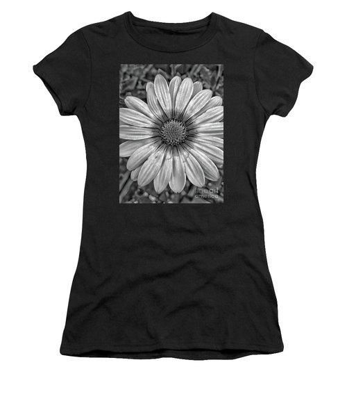 Flower Power - Bw Women's T-Shirt